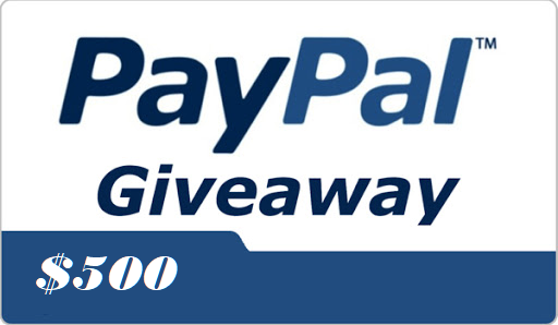 $500 Paypal #Giveaway  > Follow, RT, Tag Friends > Confirm entry at