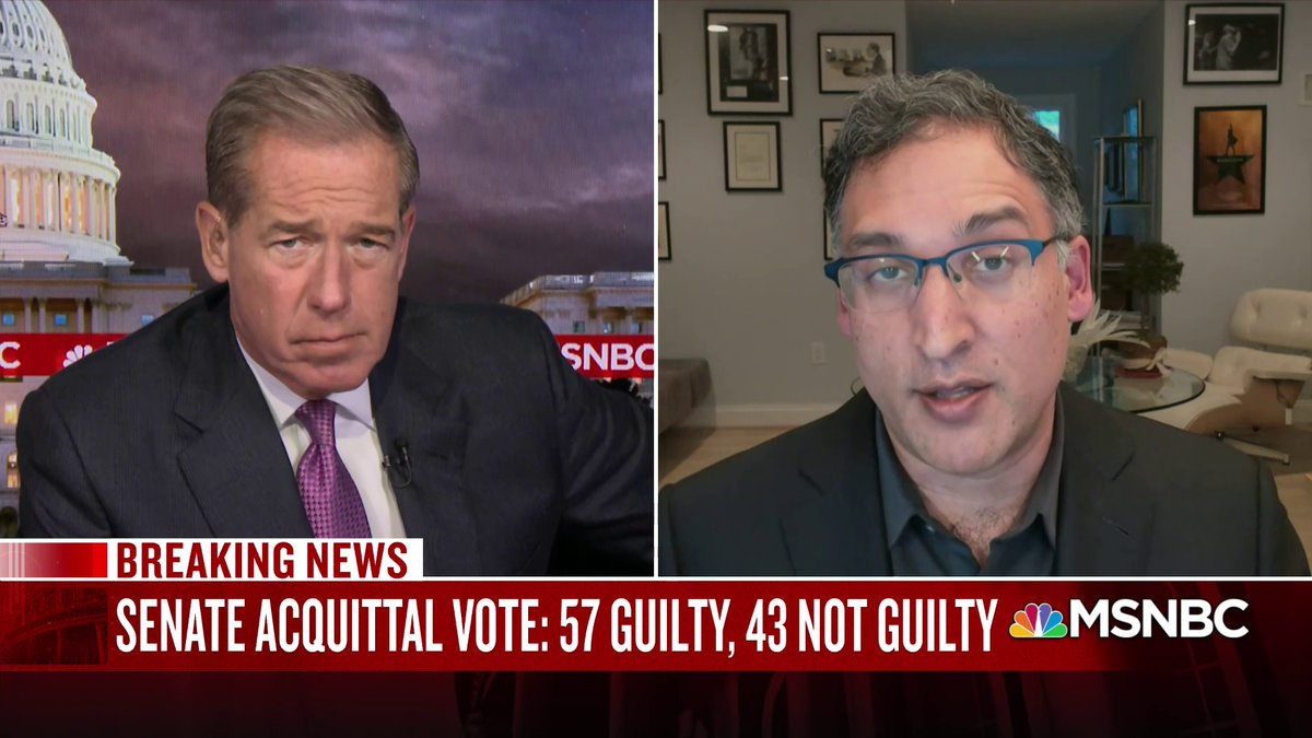 WATCH: @neal_katyal discusses how a clause in the 14th Amendment could be used to bar fmr. President Trump from holding public office in the future.
