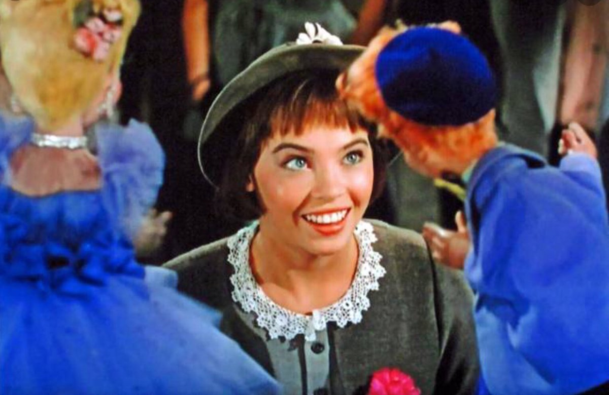 Replying to @CHANNINGPOSTERS: Any Leslie Caron fans out there? #Lili
