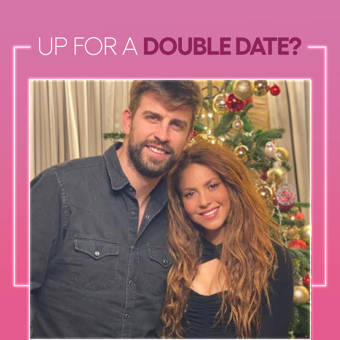 Win a double date with @shakira & @3gerardpique! Use promo code WITHLOVE300 and you'll...  ❤️ Get 300 extra entries ❤️ Also be in the running for $5,000  ENTER:   #omaze #shakira #gerardpique
