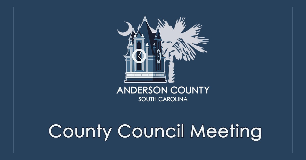 Anderson County Christmas Schedule 2021