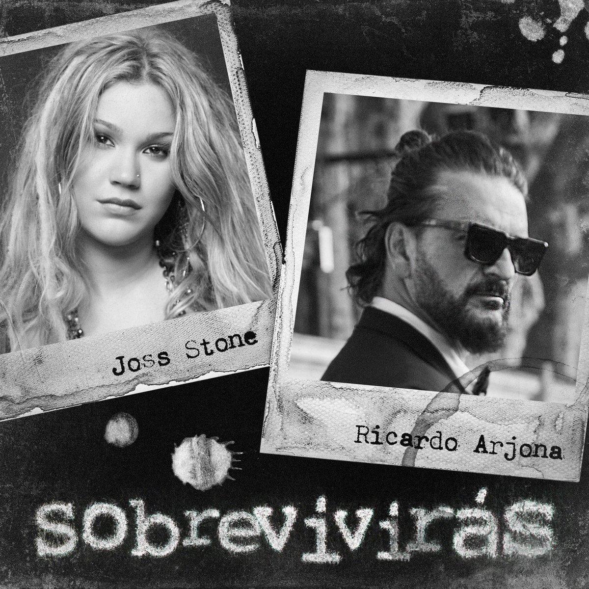 """.@Ricardo_Arjona estrenó álbum. """"Covers, Demos y Otras Travesuras de Blanco"""". Incluye """"Sobrevivirás"""", junto a @JossStone, single que te presentamos en el podcast #NuevaMúsica en tu radio."""