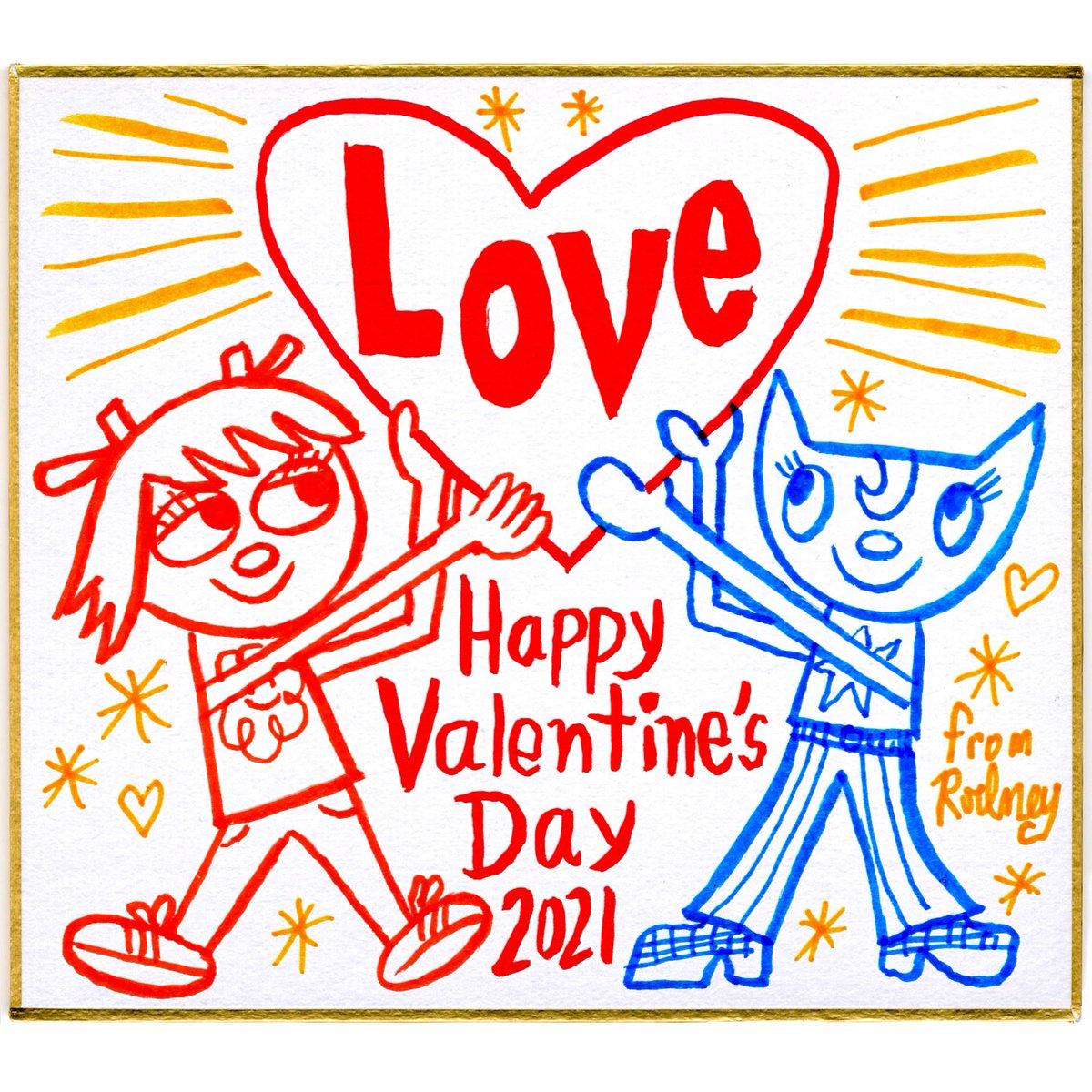 Happy Valentine's Day❣️ #ロドニーアラングリーンブラット #バレンタイン