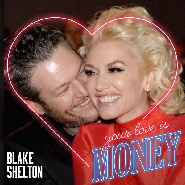 @blakeshelton .@blakeshelton How did I do?!!!  You and @gwenstefani make my heart smile.  Love your love!!