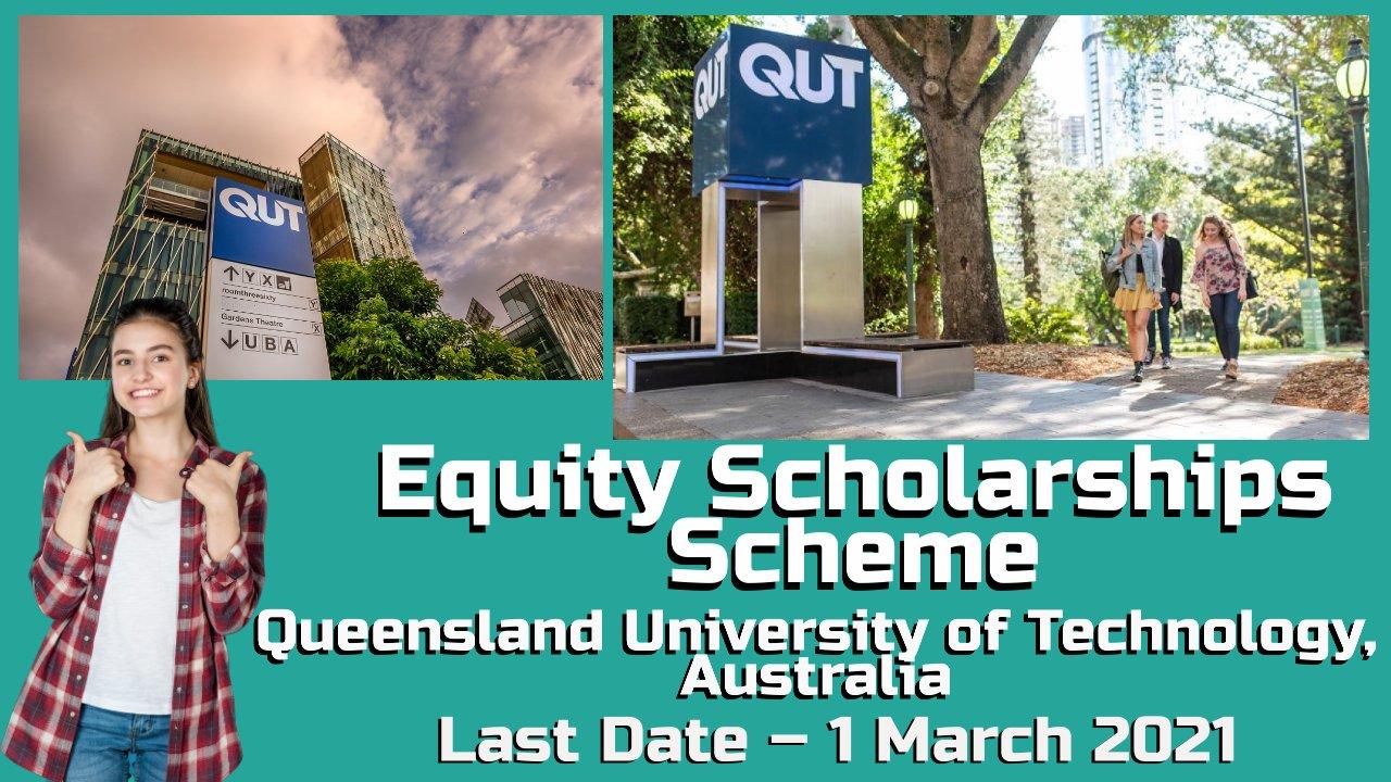 Equity Scholarships Scheme at QUT in Brisbane, Australia