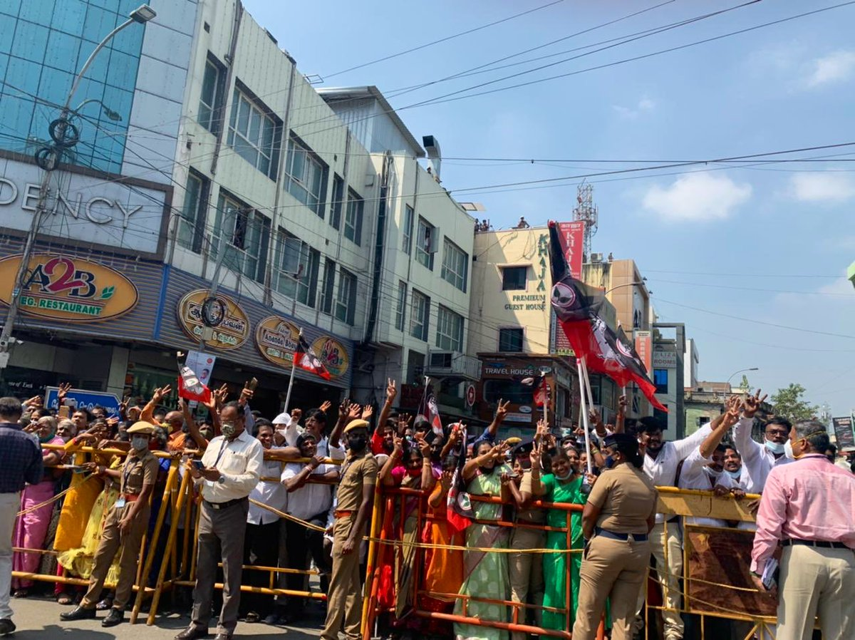 Replying to @narendramodi: Thank you Chennai!   Overwhelmed by the affectionate welcome.
