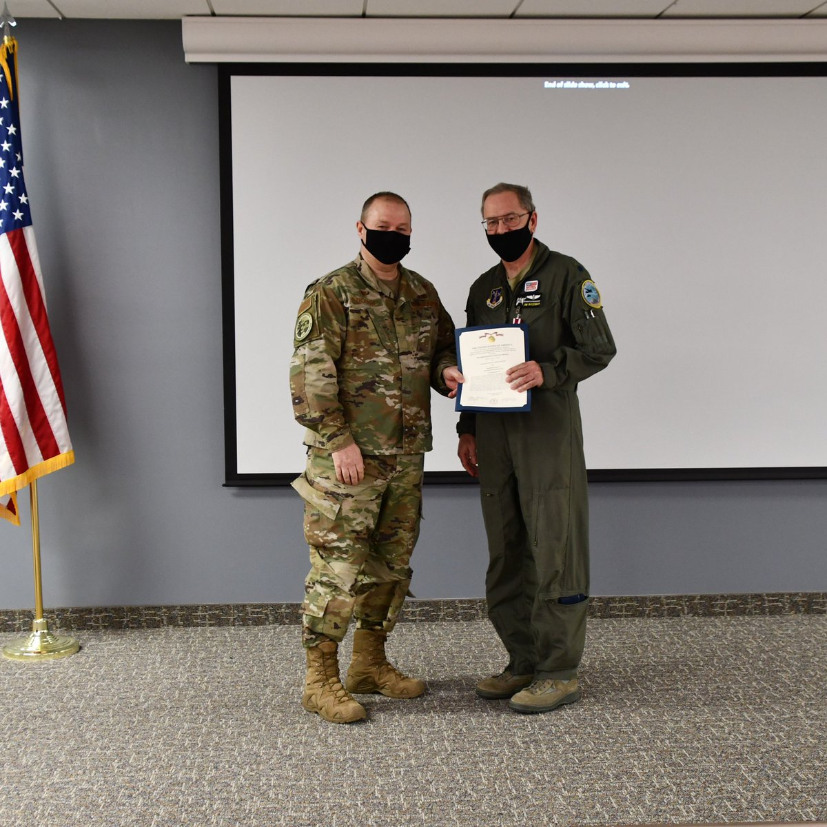 Montana State Air Surgeon Lt. Col. James Bozeman retired during February drill weekend after more than 20 years of service to the Montana Air National Guard. Thank you for your service Doc Bozeman!