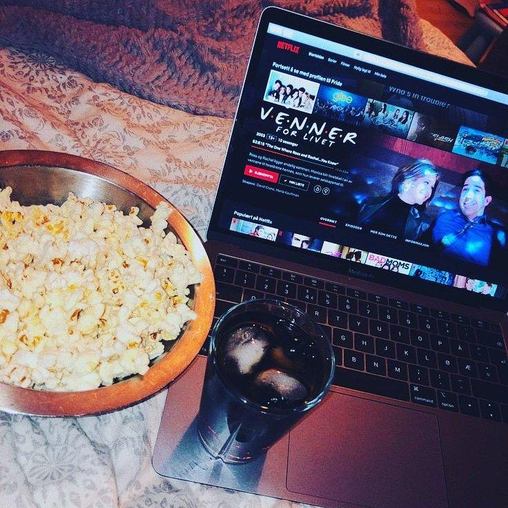 My neck, my back, my Netflix and my snacks #HappyRepublicDay2021