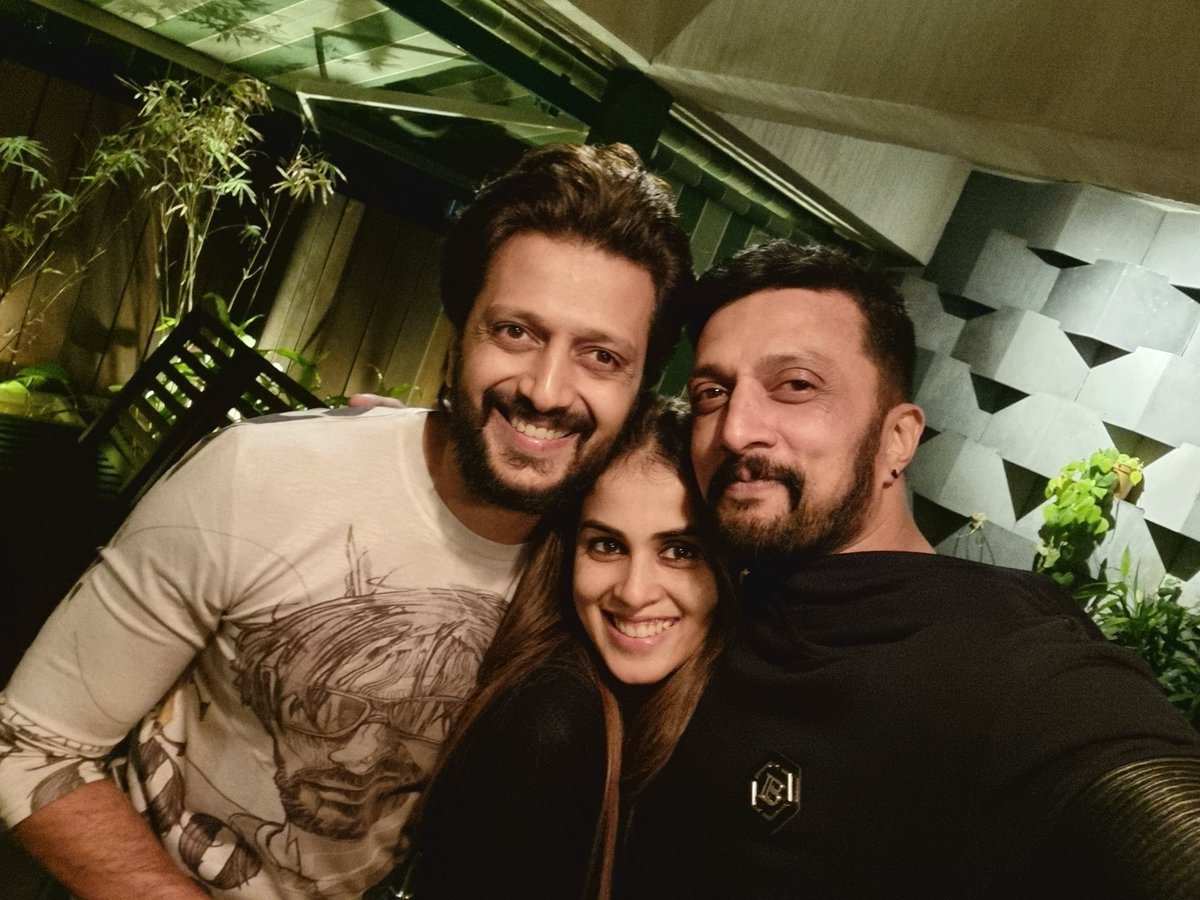 U two spread supaaa energy. Mch luv to you @geneliad @Riteishd ...  And #ImagineMeat is an awesome thought,,, my bstttt wshs fo tat. Cheers 🥂🥂🤗