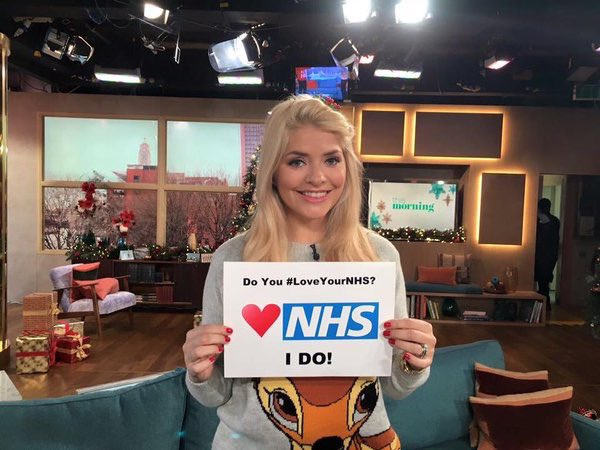 10 ways you can show you #LoveYourNHS this Valentine's Day #1 Post a tweet explaining why you're grateful to NHS staff with the hashtag #LoveYourNHS Please RT to get others involved too 💙
