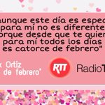 Image for the Tweet beginning: San Valentín 2021, di te