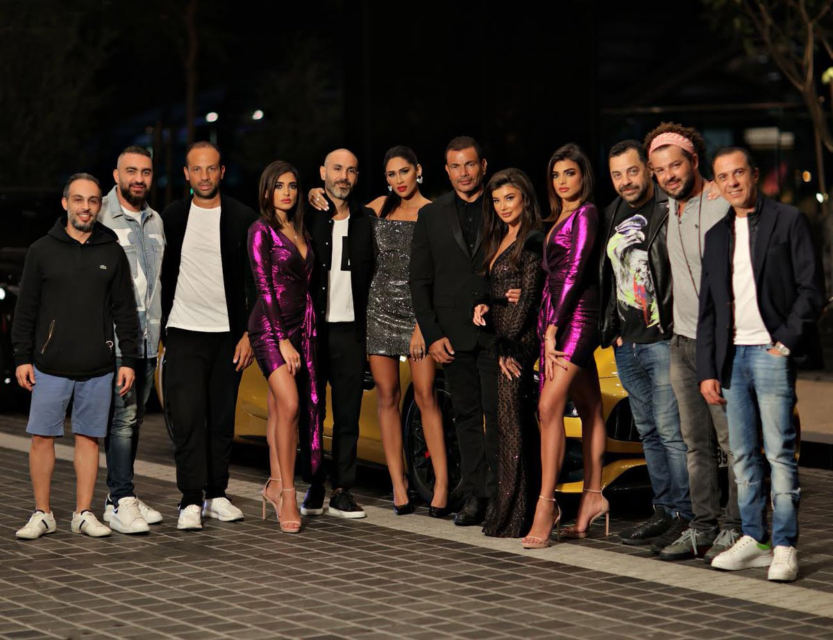 Behind the scenes of #AmrDiab's Eau de Parfum commercial