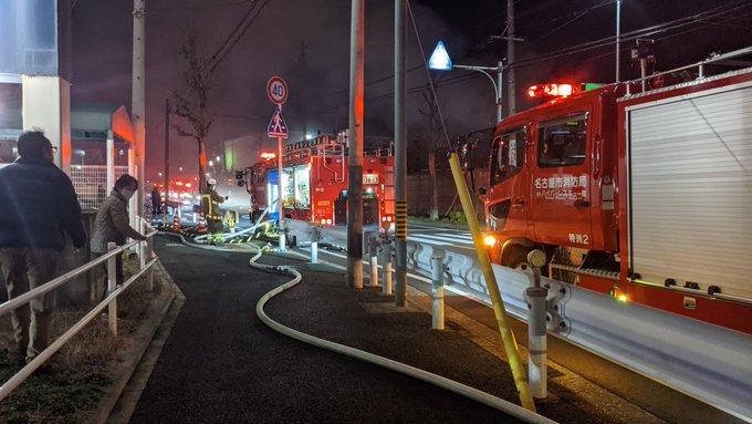 東レ 愛知 工場 火災 東レ愛知工場で火災、事務所2階が燃える、けが人なし