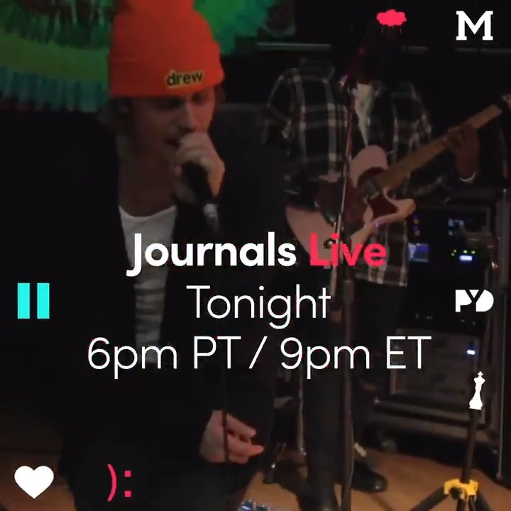Happy valentines day. See you tonight :) #journalslive