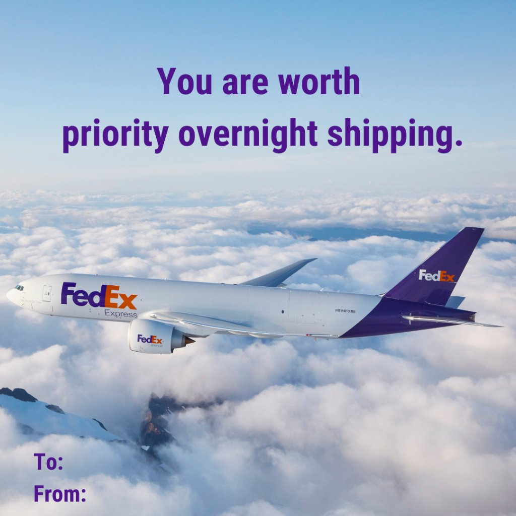 Forgot a card? No worries — we got you. Happy #ValentinesDay 💜 ✈️