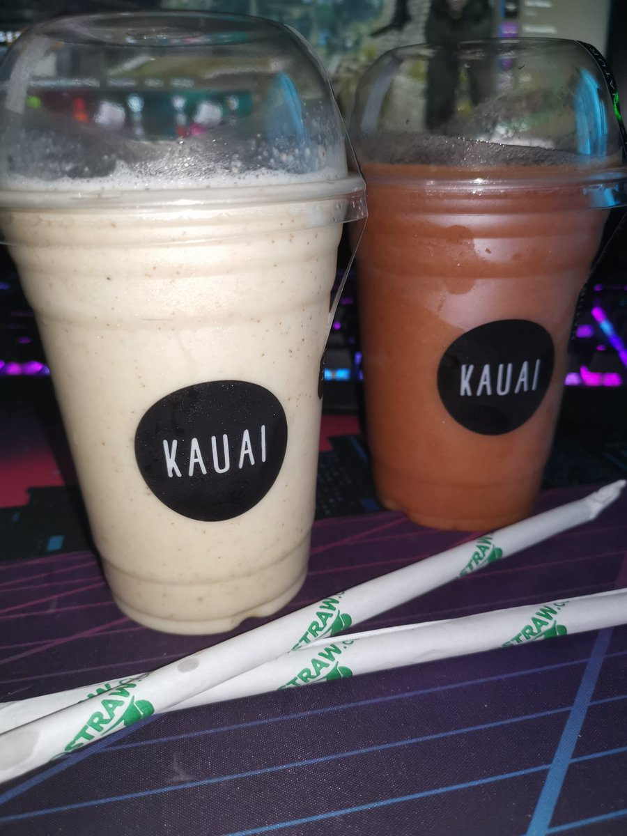 annieBrand - Bought @KauaiGlobal smoothies for two Drank both No regrets 😂😏  I hope you all have an amazing Valentines day filled with love. 🥺🥰  Remember to love and treat yourself as well 🙌🏼  I love you all 🥰❤️🤗