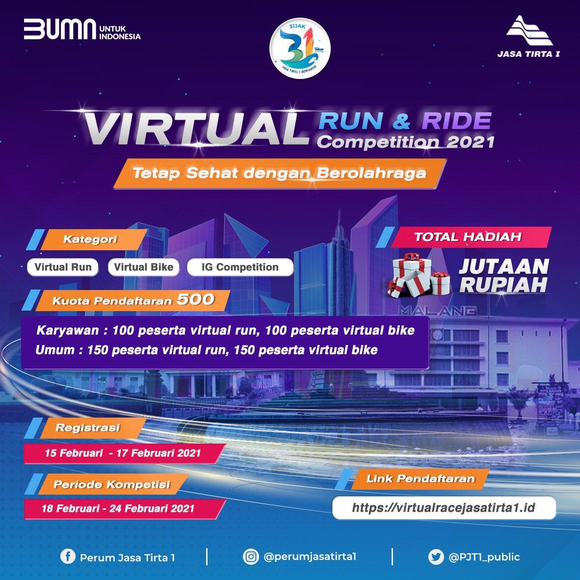 Jasa Tirta I Virtual Race • 2021