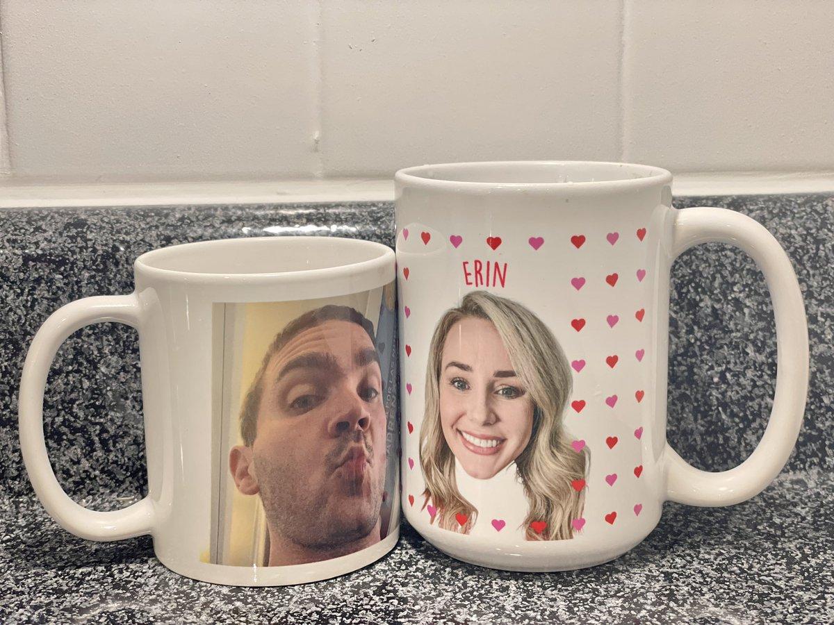 Happy Valentine's Day from Erin & I! #HappyValentinesDay #HappyRepublicDay2021 #mywifebuys #mywifebuysmobilehomes #coffeecup #CoffeeLover #Coffee