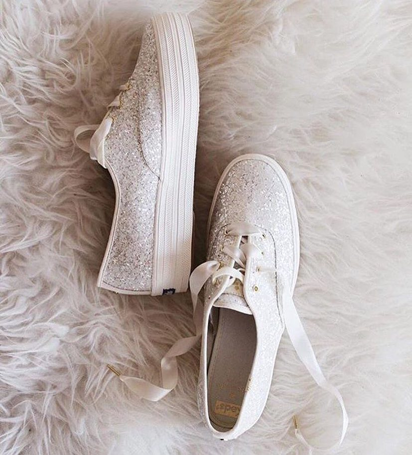 The finishing touch 👟👰🏻‍♀️✨ #Kedsstyle  Shop the Keds x Kate Spade at Keds stores, online at , or through the Keds Ph Viber community, and our personal shoppers will assist you! Join here: