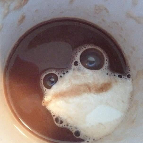Replying to @wtfmafakas: unusual things happened with my coffee this morning