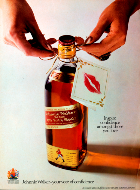 Should our Red Label be the new red rose 🥃🌹? We've taken a look back at some of our favourite Valentine's Day adverts from the archives. Let us know if you can guess what years these ads date back to! #JWPrincesStreet