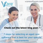 Image for the Tweet beginning: VCare software is cost-effective, comprehensive,