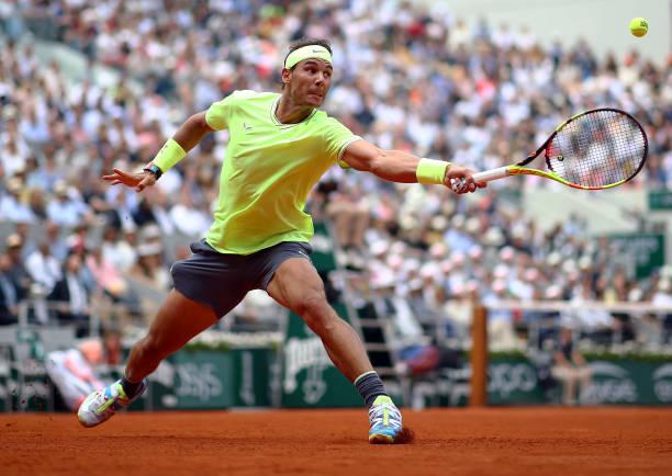 Grand slam singles, winning percentages  Nadal  285-39       87.96% Djokovic 300-45   86.96% Federer 362-59     85.99%  #getty