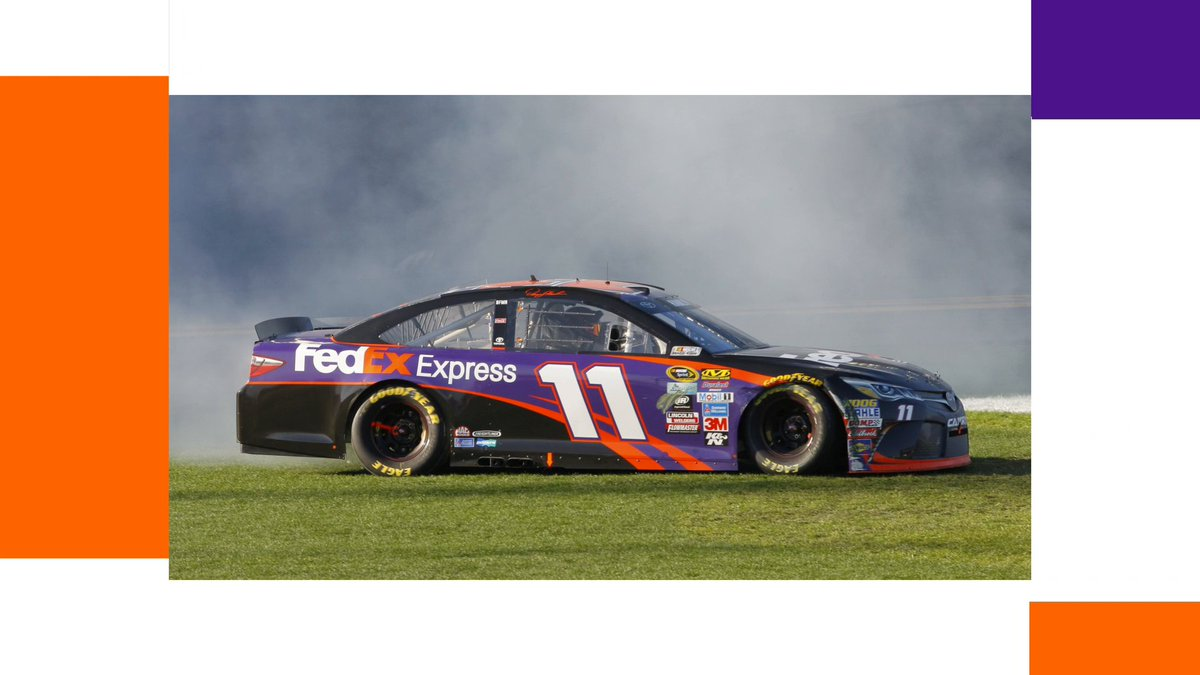 We love looking back at our #FedEx11 Daytona 500 wins. Good luck today to the team as they go for Daytona win #4 and the first ever three-peat! ☘️