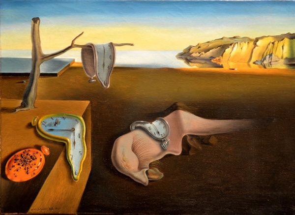"""La Noche De Anoche de Bad Bunny y Rosalía es una representación de """"La Persistencia De La Memoria"""" de Dalí, que representa recordar, hacer """"memoria"""" de lo que tuvieron. El fuego, de lo ardiente que fue, y el mismo fuego les quemó"""