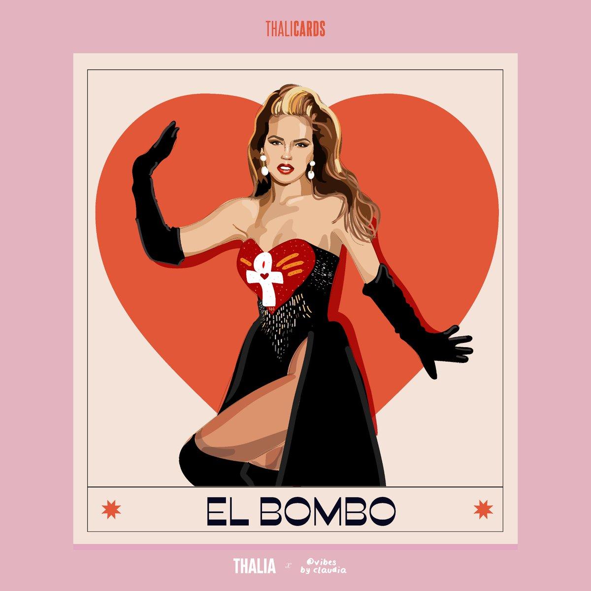 ¡#ElBomboDeTuCorazon‼️¡Feliz Día de San Valentín amores! ¿Les están gustando las tarjetas de San Valentín para que se las dediquen a quien más quieran HOY? 💘Suscríbete a mi canal de Telegram para que las puedas tener todas muy pronto. #ThaliaLosInicios ➡️