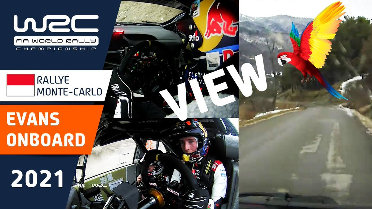 EVANS: 📺 Superb simultaneous tri-view onboard video of @ElfynEvans and @scottmartinat on SS11, La Bréole - Selonnet 2 of Rallye Monte-Carlo 2021.  Tap here to play 🔗   🇲🇨 @TGR_WRC | @ACM_Media | #WRCjp | #WRC | #RallyeMonteCarlo | #EE33 📹 @OfficialWRC