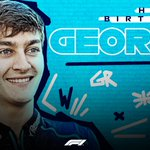 Happy Birthday to you, @GeorgeRussell63! 🎂  #F1 #HappyBirthday