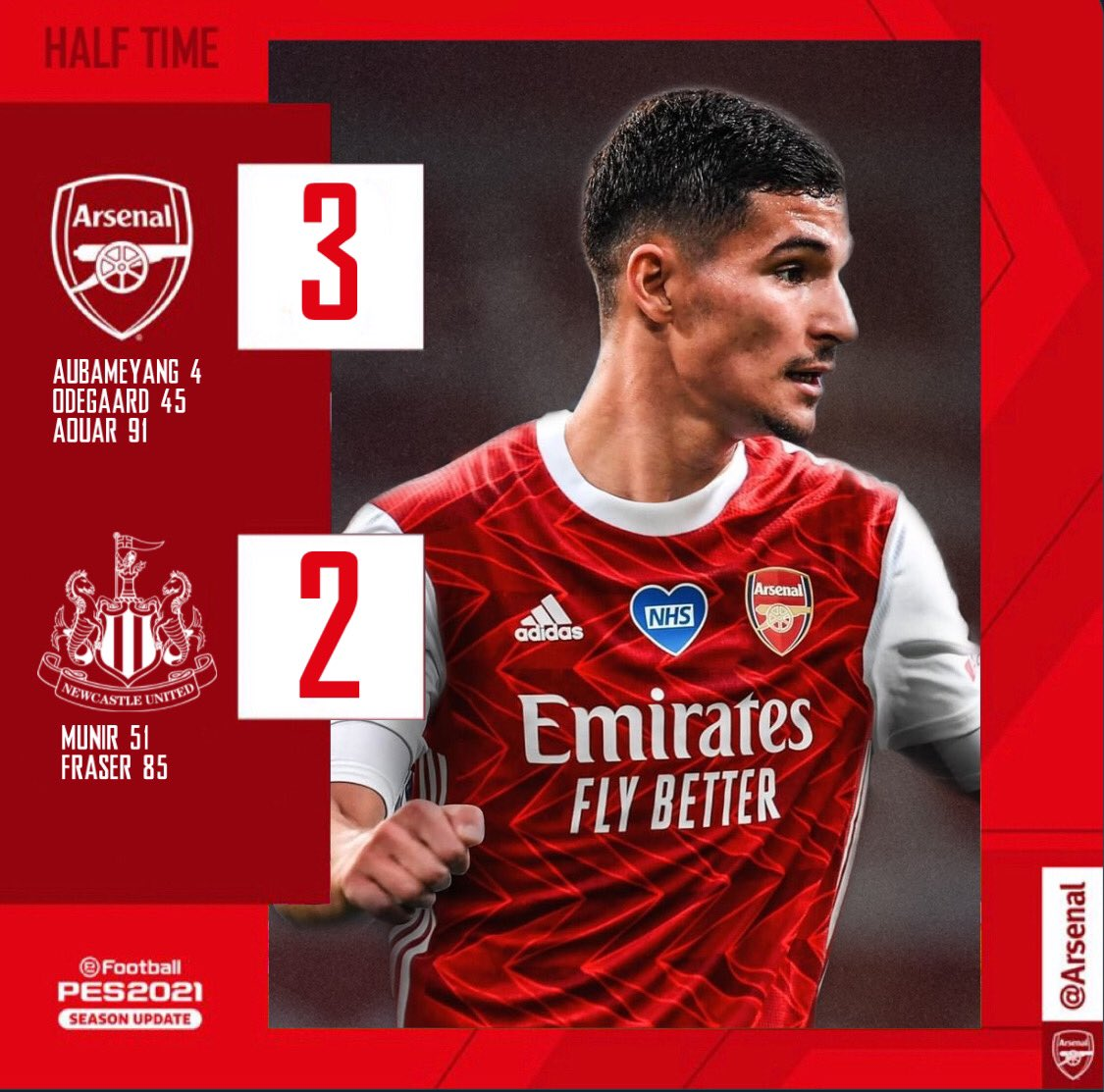 AOUAR WINS IT LATE ON! 🐐  🔴 3-2 🟡(FT)  #ARSNEW