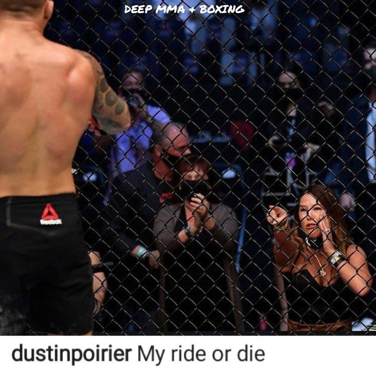 Happy Valentine's Day.  Find yourself a Ride or Die like @DustinPoirier  #UFC #DustinPoirier #mma  #ValentinesDay #valentines