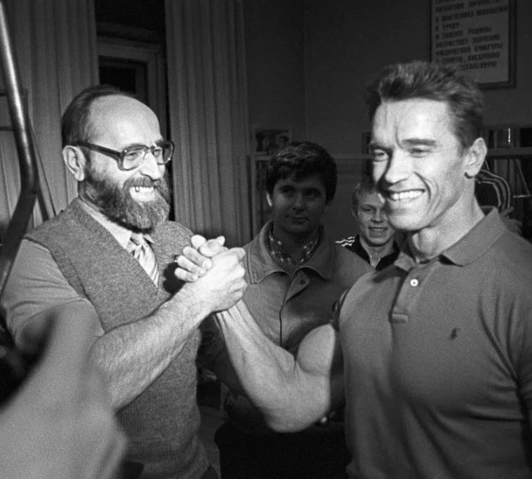 Арни и Юрий в Москве в 89 году, Власову на фото за 50 лет
