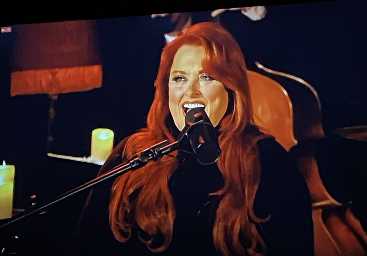 Well, @Wynonna is soothing my soul with her jazz night livestream! We are digging into her jazz inspiration and her distinctive vocal style in our @92Y talk on 2/24! Tickets here: