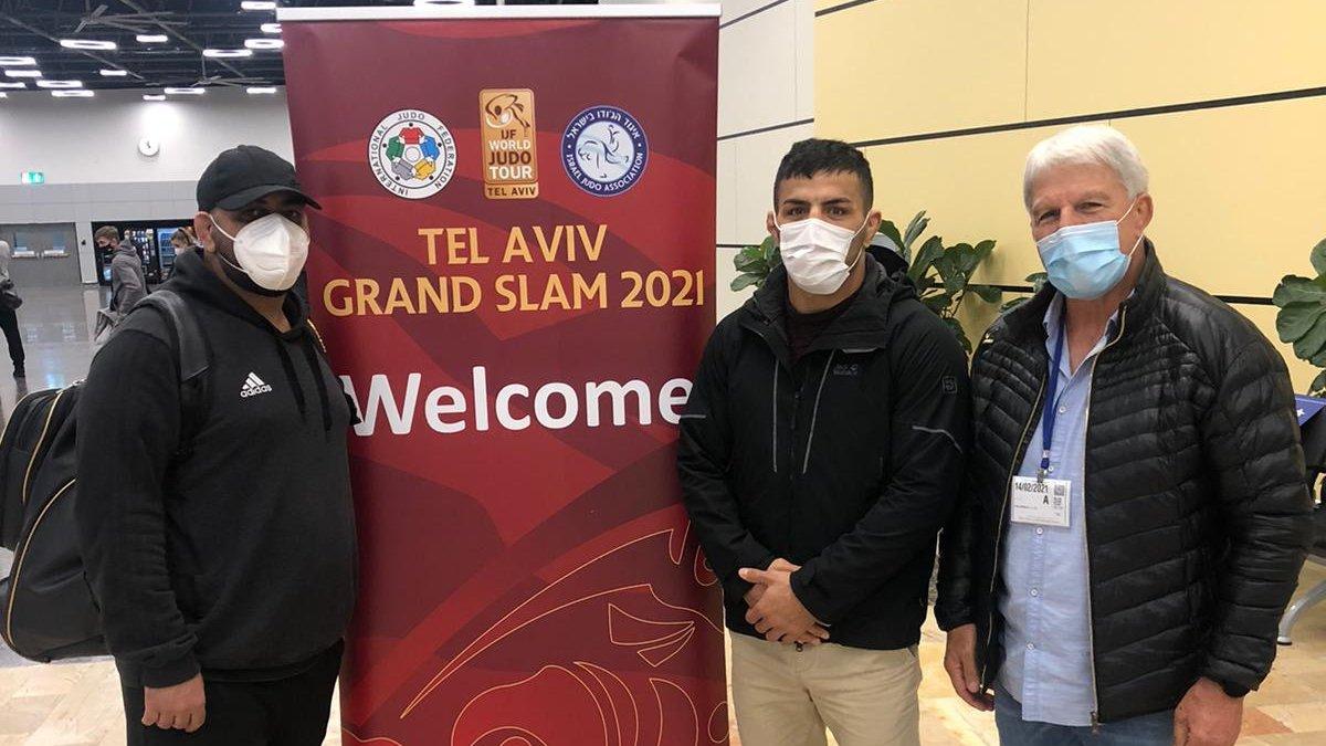 إسرائيل تغرد : وصل إلى إسرائيل البطل الإيراني سعيد مولاي، الفار من بلاده، للمشاركة في بطولة الجودو في تل ابيب. يشا…