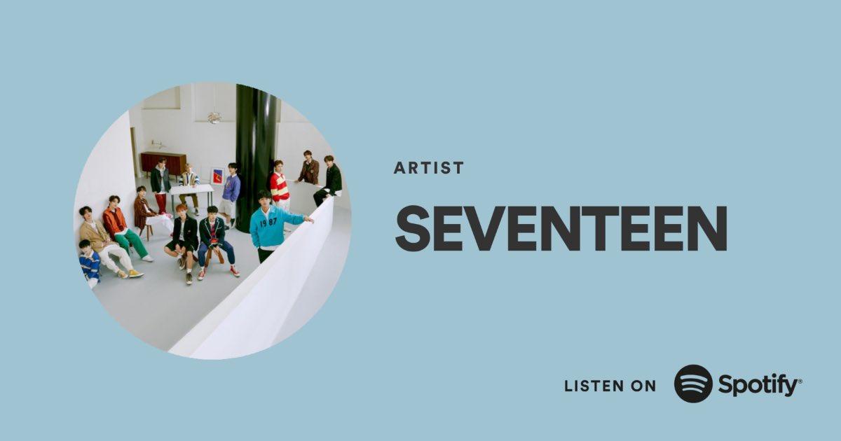 [NEWS] Welcome to Korea @SpotifyKR 이제 스포티파이 코리아에서 세븐틴의 음악을 즐겨보세요!  Follow SEVENTEEN ▶️   #세븐틴 #SEVENTEEN #스포티파이 #SpotifyKR #안녕스포티파이