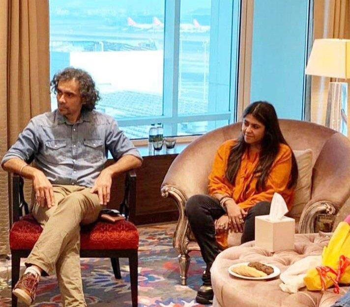 The meet - held in #Mumbai on Sunday evening [14 Feb 2021] - was attended by well-known filmmakers #DineshVijan, #EktaKapoor, #ImtiazAli, #NiteshTiwari, #AshwinyIyerTiwari and #SsanjayTripathy... #KaranJohar and #RohitShetty spoke over phone with the LG. #JammuAndKashmir #JandK