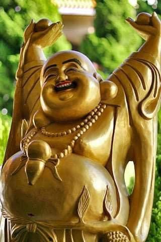Los japoneses dicen que cada vez que compartimos la imagen de un Buda sonriente recibimos abundante dinero o buenas noticias 🍀 https://t.co/0WRLGEagXR