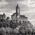 Image for the Tweet beginning: Burg Posterstein heute und vor