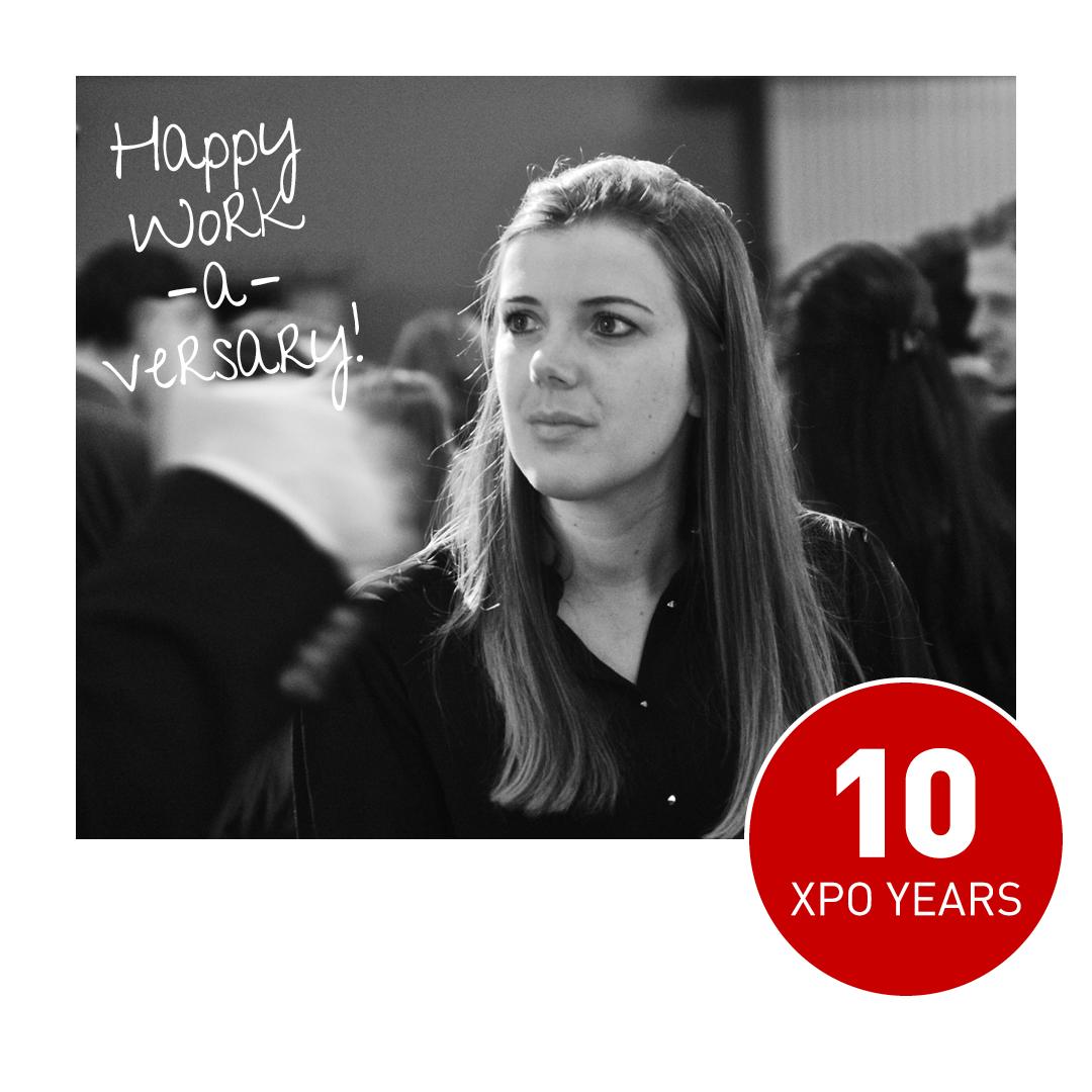 Happy Work -a-versary aan Kathy & Alexandra!  Vorige maand blies Kathy 5 Xpo kaarsjes uit. Vandaag is Alexandra aan de beurt met 10 Xpo jaren! 🎂 Hiep hiep hiep en dankjewel voor jullie inzet én enthousiasme! 🙌 https://t.co/jfg4fcUNd0