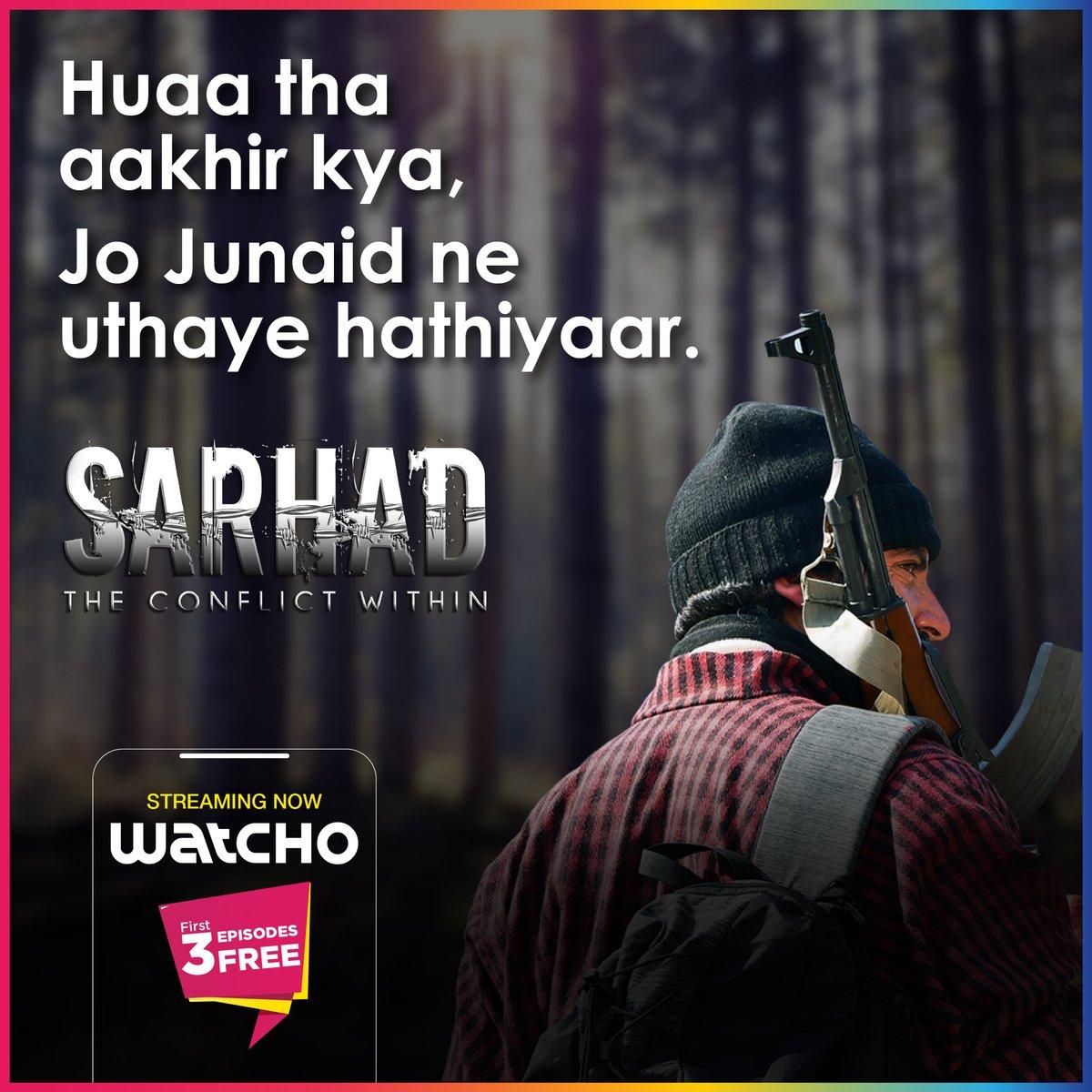 Jaaniye Junaid ka guzra kal kaisa tha. Sarhad, streaming now on Watcho.  #LetsWatcho #Watcho #patriotism  #MustWatch  #HappyRepublicDay #Nationalism  #love #patriots #national #proudindian  @DishTV_India @officiald2h @PerceptPictures