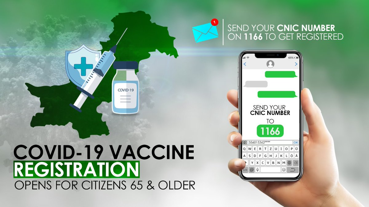 """Government of Pakistan on Twitter: """"Covid_19 vaccine registration ..."""