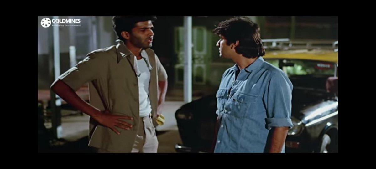 Today is the birthday of @AshGowariker Here in Rajendra Kumars Naam (1986), as the taxi driver Jai Singh Kalewar, with Kumar Gaurav