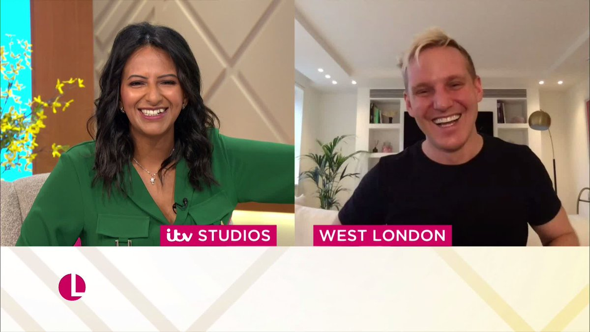 We love this friendship. ❤️ Watch the full chat with Strictly pals @ranvir01 and @JamieLaing_UK ➡️bit.ly/3fkn8VJ