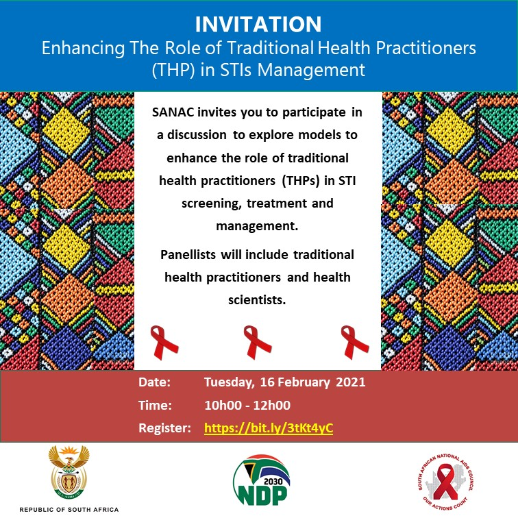 This #webinar is currently underway - Commissioner Mbele-Khama @Gogosheilambele is on the floor unpacking the Traditional Health Practitioners' (THPs) perspective on the management of STIs within a traditional health setting. @HealthZA @UNAIDS_ZAF