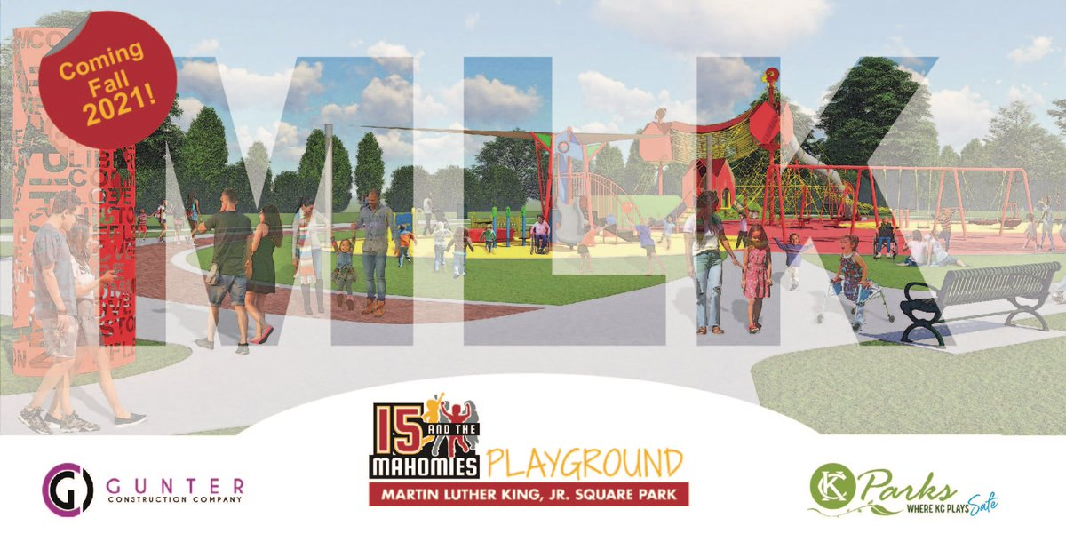 "Help @15andMahomies transform MLK, Jr. Square Park by creating a personalized brick!   To secure your brick👇:   ""I hope this is a project that the KC community can rally around and enjoy for a long time."" - @PatrickMahomes  Release:"