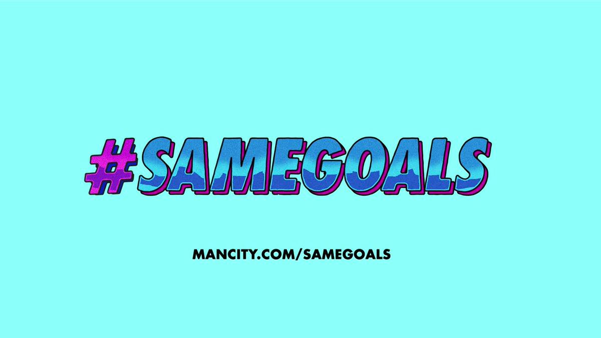 #𝗦𝗔𝗠𝗘𝗚𝗢𝗔𝗟𝗦 is back! @sammymewy and @sterling7 take you through the steps of how to get involved 🙌 ➡️ mancity.com/samegoals 🔷 #ManCity | mancity.com