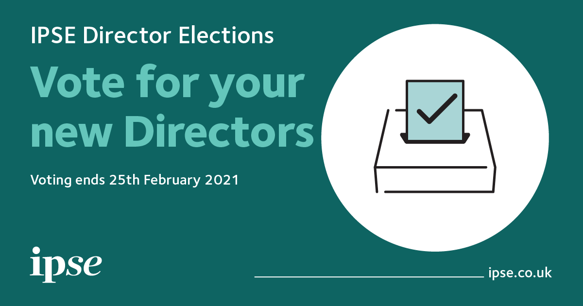 IPSEs Director Elections opens today! As IPSE navigates new issues brought on by the #pandemic, the role of the director will play a crucial role in providing leadership and guidance to our organisation. Voting for the elections closes on 25th February. ipse.in/3qqYJ60
